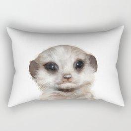 Little Meerkat Rectangular Pillow