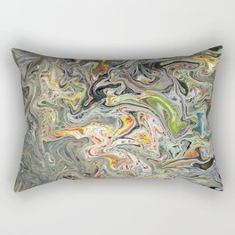 Abstract Oil Painting 25 Rectangular Pillow