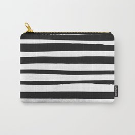 STRIPE BW Carry-All Pouch
