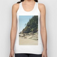 oregon Tank Tops featuring OREGON COAST by Outdoor Bro