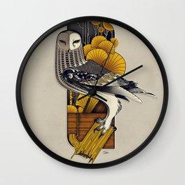 Stylish Owl Wall Clock