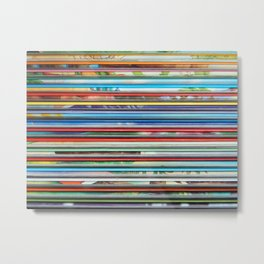colorful children books Metal Print