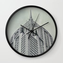 Vintage Chrysler Cuilding 1930's Wall Clock