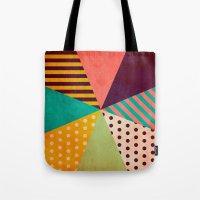 umbrella Tote Bags featuring Umbrella by Louise Machado