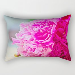 Pink peony beauty Rectangular Pillow