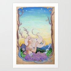 Dandelion Dream Art Print