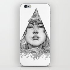 Triangle Portrait iPhone & iPod Skin