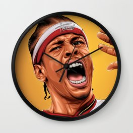 THE ANSWER - ALLEN IVERSON Wall Clock
