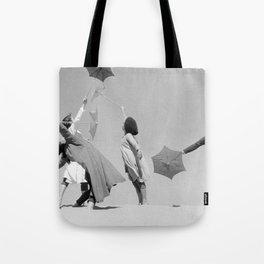 Umbrella ballet Tote Bag