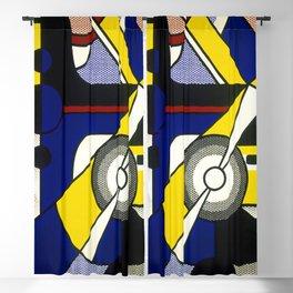 Roy Lichtenstein - Aviation 1967 Blackout Curtain