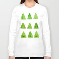 mountain Long Sleeve T-shirts featuring Mountain by Young Ju