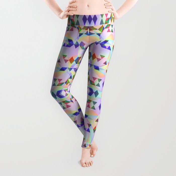 Lilac tribomb Leggings