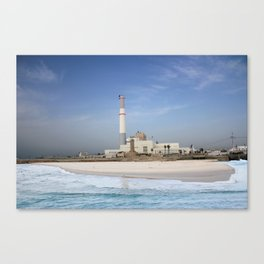 Tel Aviv photo - Reading power station Canvas Print