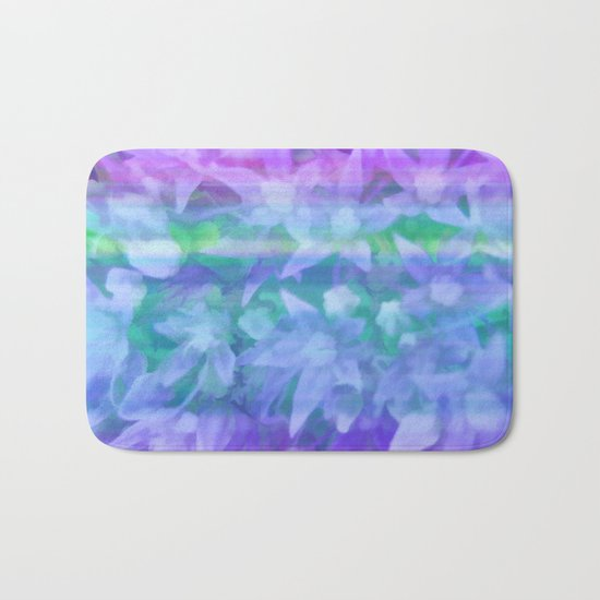 Seaside Floral Bath Mat