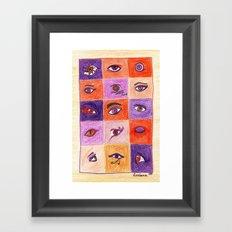 Fifteen Framed Art Print