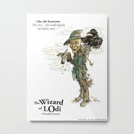 Like, the Scarecrow (color) Metal Print