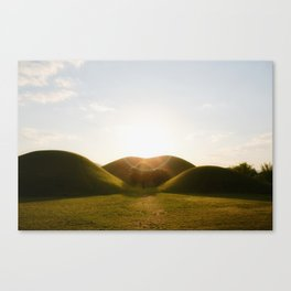 Dream hills Canvas Print