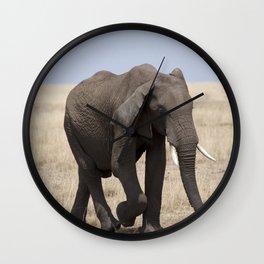 Mara Elephant Wall Clock