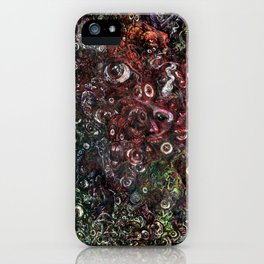 Faces Everywhere iPhone Case