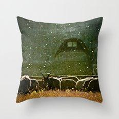 Sheep. Throw Pillow