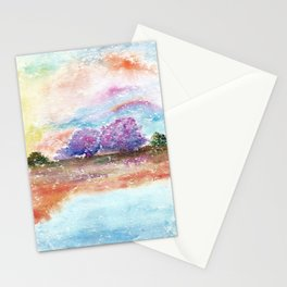 A Beautiful Day Watercolor Illustration Stationery Cards