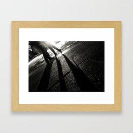 Steamy Night Framed Art Print