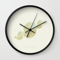 unicorns Wall Clocks featuring unicorns by tiefental+timm