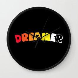 Dreamer (Akoisexual/romantic) Wall Clock