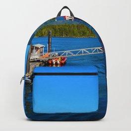Tofino Harbor, Vancouver Island BC Backpack
