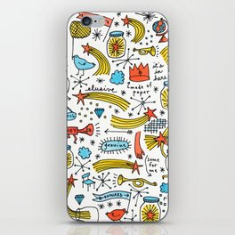 chasing stars and putting them in jars iPhone Skin
