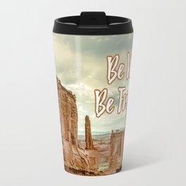 Be Wild Be Free - Utah Travel Mug