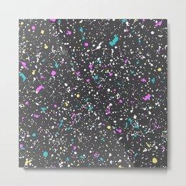 Splat goes the Paint Metal Print
