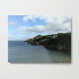 The Coast of Howth, Ireland Metal Print