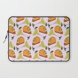 Tacos y Margaritas Pattern Laptop Sleeve