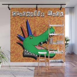 Crocodile Rock Wall Mural