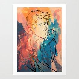Follow me back home Art Print