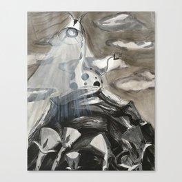 Giraffe-a-lamp Colony Canvas Print