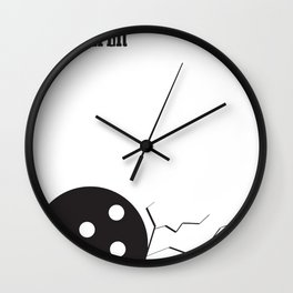 Obviously, You Are Not A Golfer Wall Clock