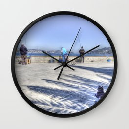 The Waiting Game Wall Clock