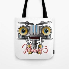 Johnny 5 Short Circuit Tote Bag
