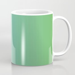 Blue and Green Transition Coffee Mug