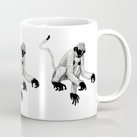 ape Mugs featuring ape by rectify