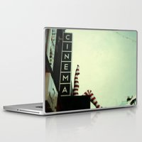 cinema Laptop & iPad Skins featuring Cinema by Cassia Beck