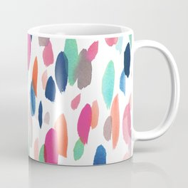 Watercolor Dashes Coffee Mug