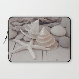Beach Still Life With Shells And Starfish Laptop Sleeve