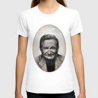 robin williams T-shirts featuring Robin williams by MK-illustration