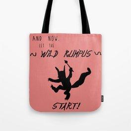 Wild Rumpus (Coral) Tote Bag