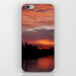 Red Sky iPhone Skin