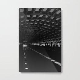 DC Metro II Metal Print
