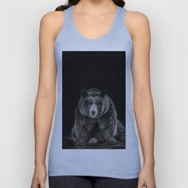 hello bear Unisex Tank Top